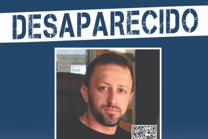 Motorista de aplicativo Vanderlei Lima da Silva desapareceu no último domingo após sair de casa em Paciência, na Zona Oeste