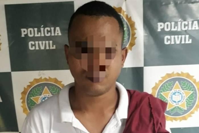 Homem foi preso após agredir a ex-companheira na Baixada