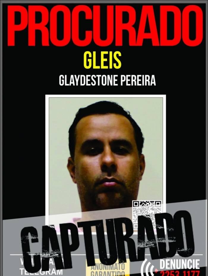 Glaydestone Pereira, preso pelo assassinato da professora