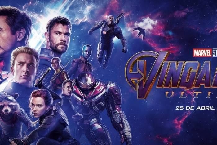 Pôster do filme 'Vingadores: Ultimato'