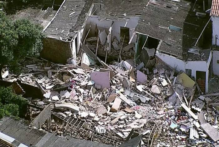 Explosão aconteceu no bairro de Primavera, em Camaragibe