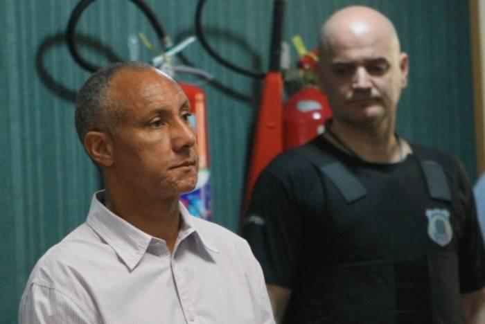 Cláudio Luiz Silva de Oliveira cumpre pena de 36 anos de prisão