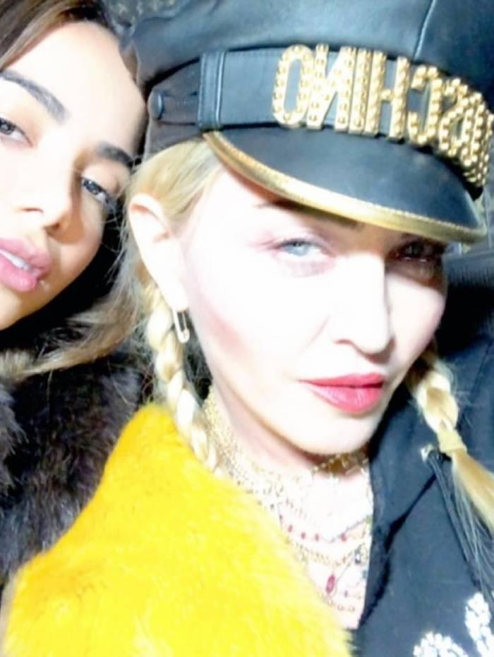 Anitta disse que ensinou português pra Madonna