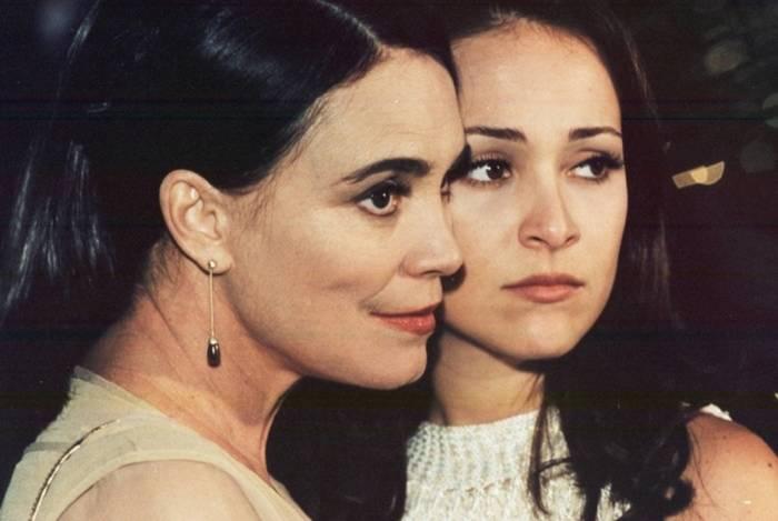 Regina Duarte e Gabriela Duarte em 'Por Amor'