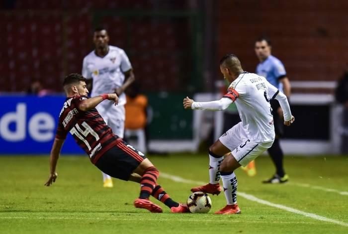 Flamengo foi derrotado