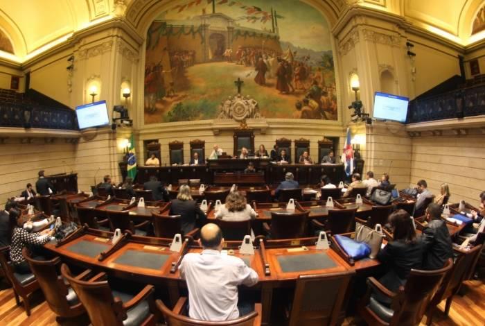 Audiência na Câmara Municipal do Rio