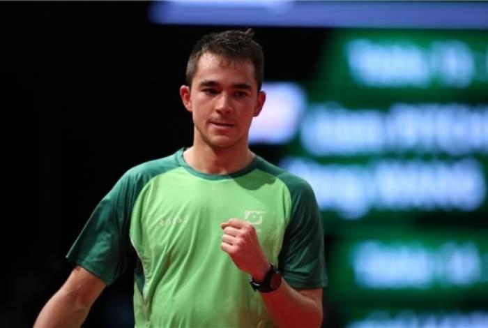 Hugo Calderano: tenista brasileiro chega às oitavas de final do Mundial e nesta quinta-feira encara chinês campeão mundial e olímpico