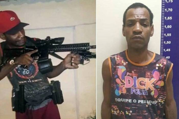 Vídeo com traficante ostentando fuzil viralizou na Internet
