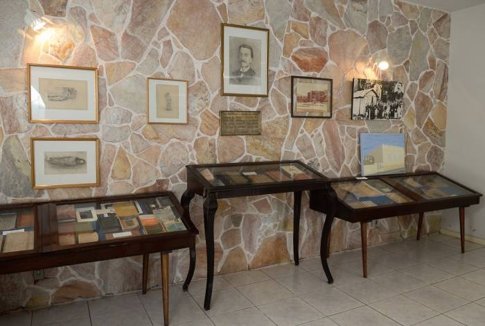 No museu, objetos pessoais, fotos e documentos exaltam a memória de um importante nome da literatura nacional