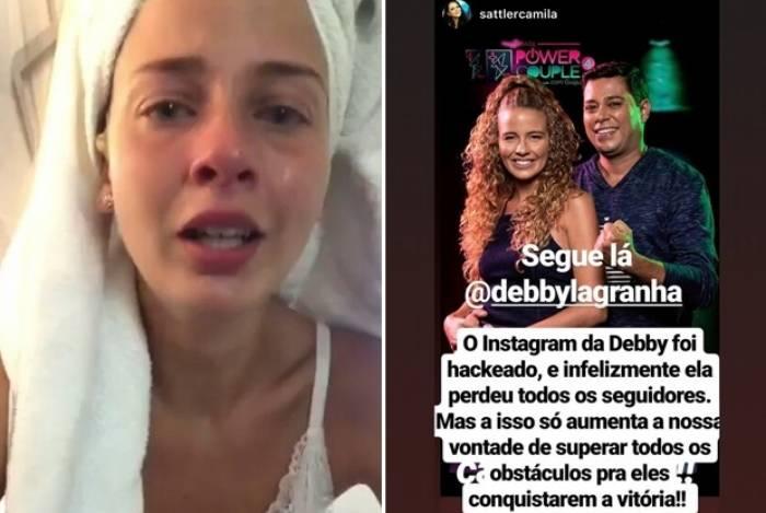 Debby Lagranha tem conta no Instagram hackeada