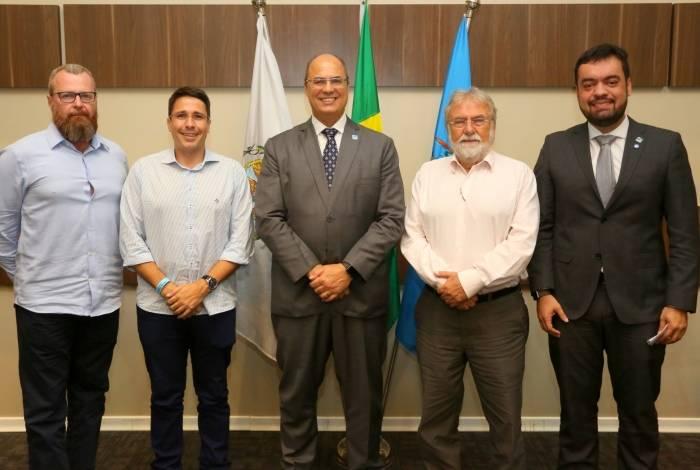 Governador do Rio se encontra com prefeitos e secretários estaduais na Baixada Fluminense