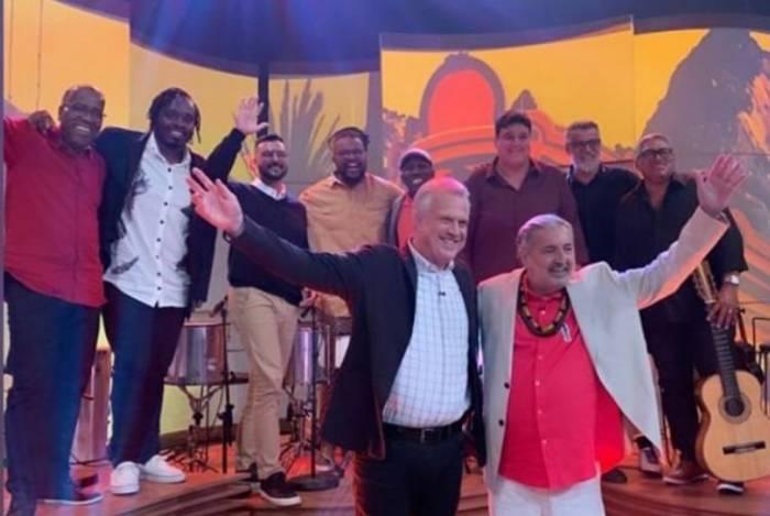 Moacyr Luz no 'Conversa com Bial'