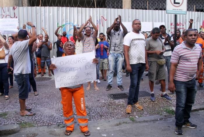 Garis suspendem greve até segunda-feira