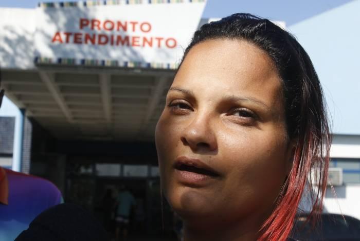 Fernanda Pacheco, 26 anos, passa noite no hospital com filha: 'Eu tô destruída, só peço a oração de todos nesse momento'