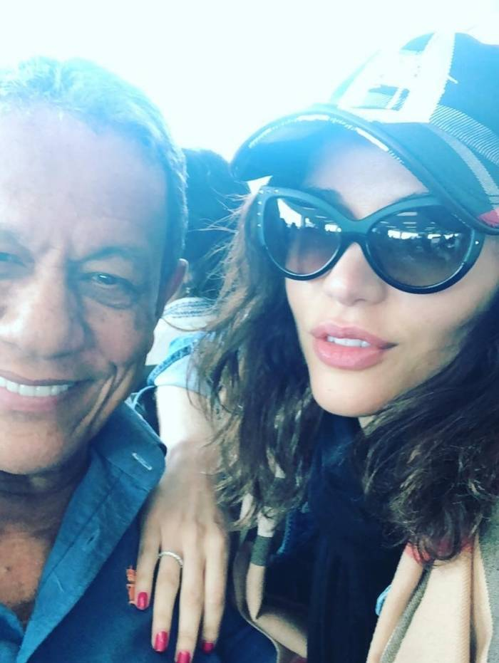 Maria Melilo e o namorado, Arnaldo