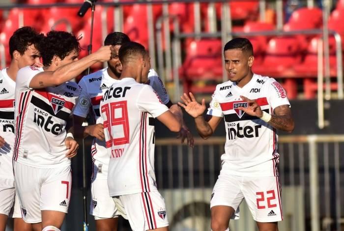 São Paulo bateu o Botafogo no Morumbi