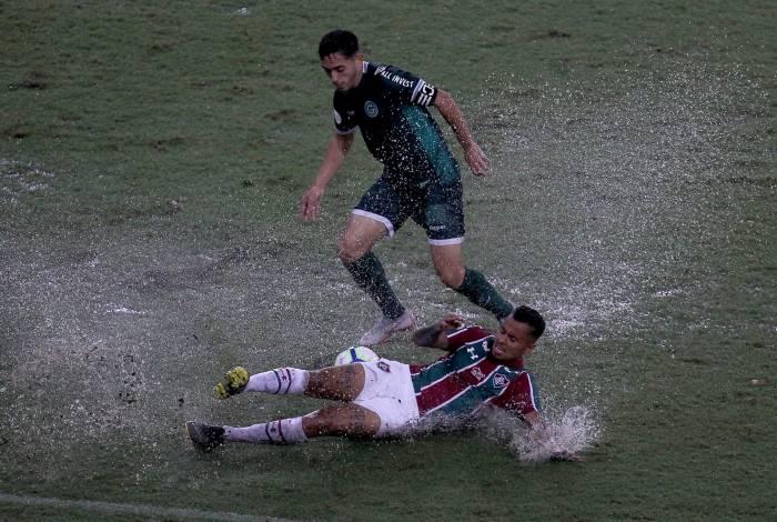 Goiás passou pelo Flu no Maracanã