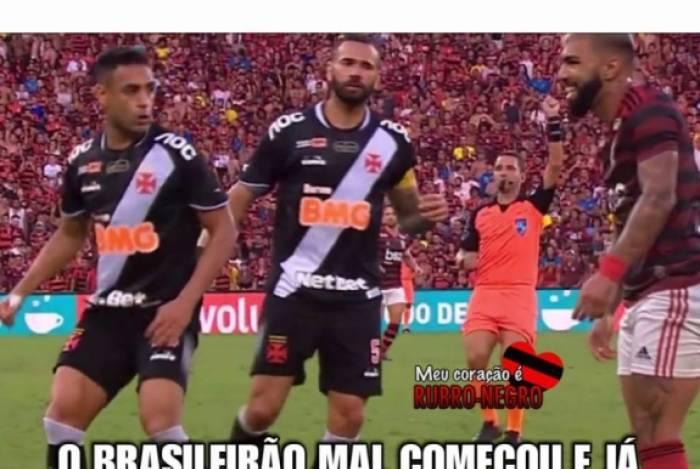 Memes bombam após goleada sofrida pelo Vasco