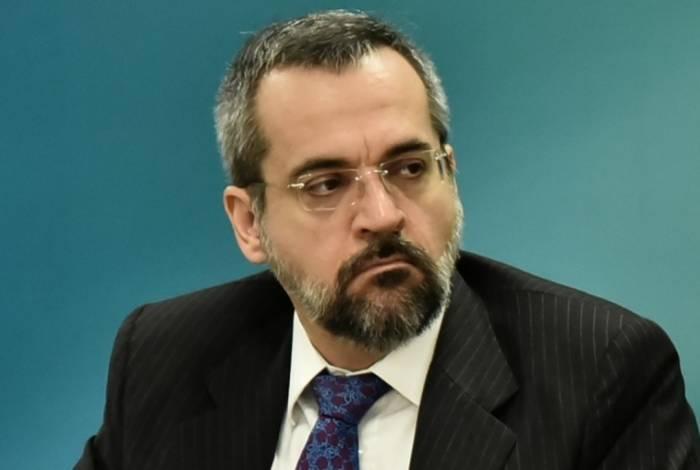 Ministro da Educação, Abraham Weintraub.