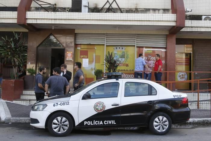 Em abril deste ano, uma operação retirou o prefeito Waguinho do cargo, por suspeita de corrupção