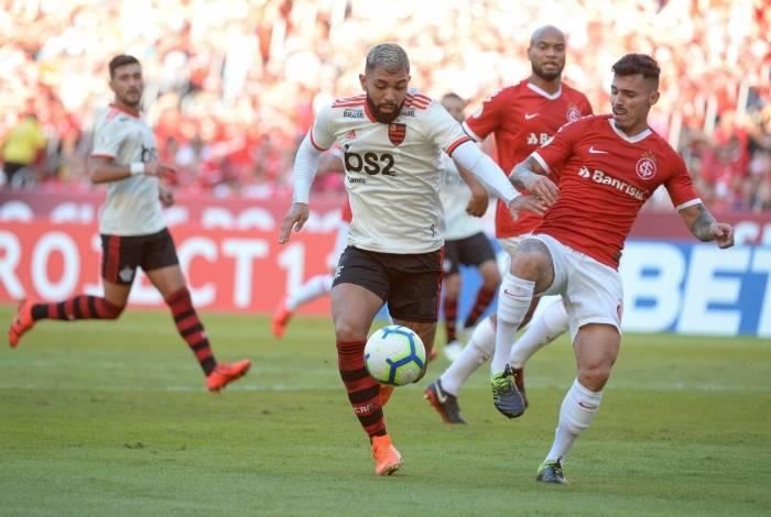 Flamengo perde para o Internacional
