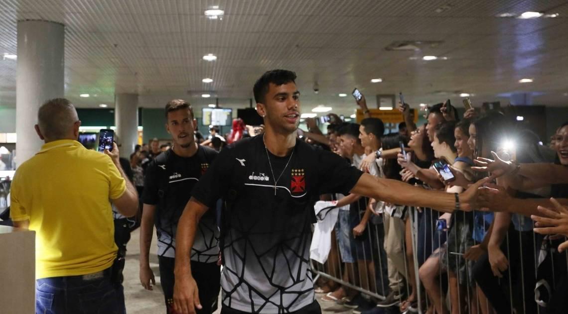 Chegada Manaus do Vasco