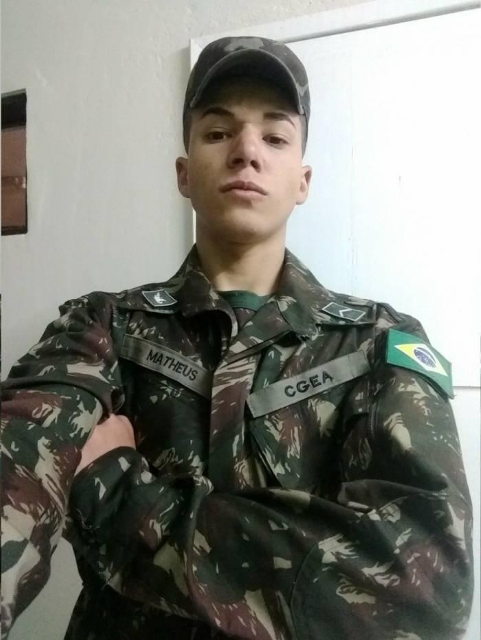 Matheus Senna, soldado do Exército morto em Magé