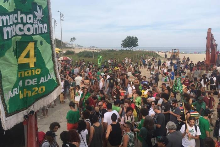 Marcha da Maconha acontece no Rio neste sábado