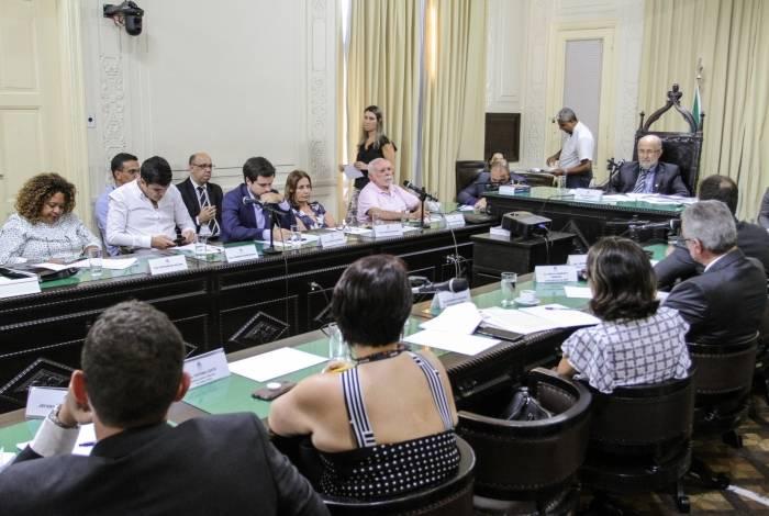 Audiência da CPI da Crise Fiscal