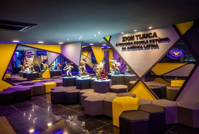 Zion inaugura escola estúdio de criação de games na Tijuca