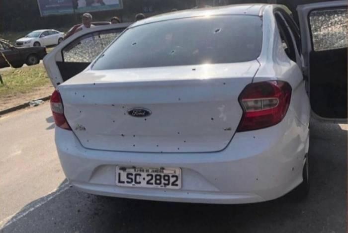 Automóvel de Evaldo dos Santos foi atingido por mais de 80 tiros. Na ação também morreu Luciano Macedo