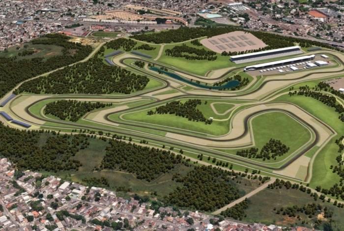 Autódromo de Deodoro teria 4,5 Km de pista e 80 mil lugares