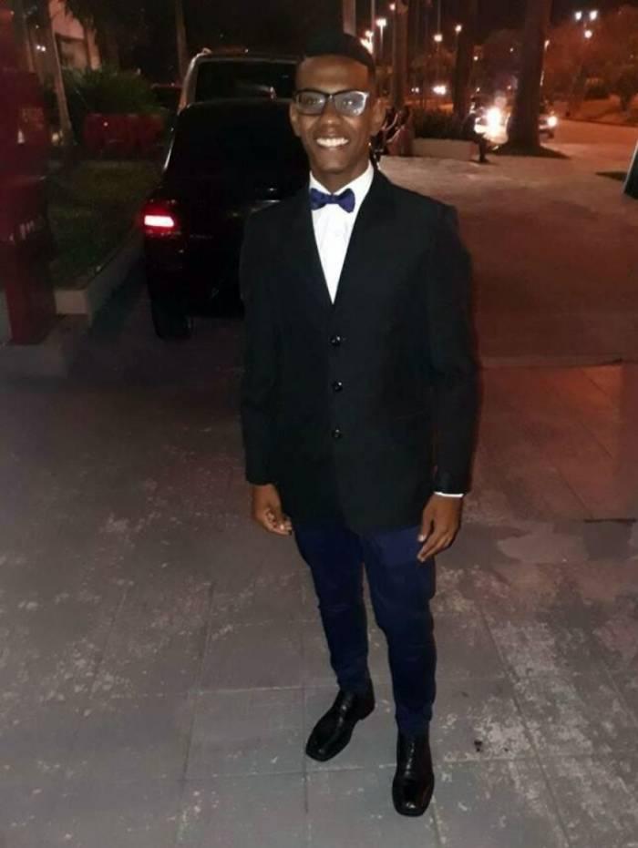 João Victor Nascimento dos Santos tem 19 anos
