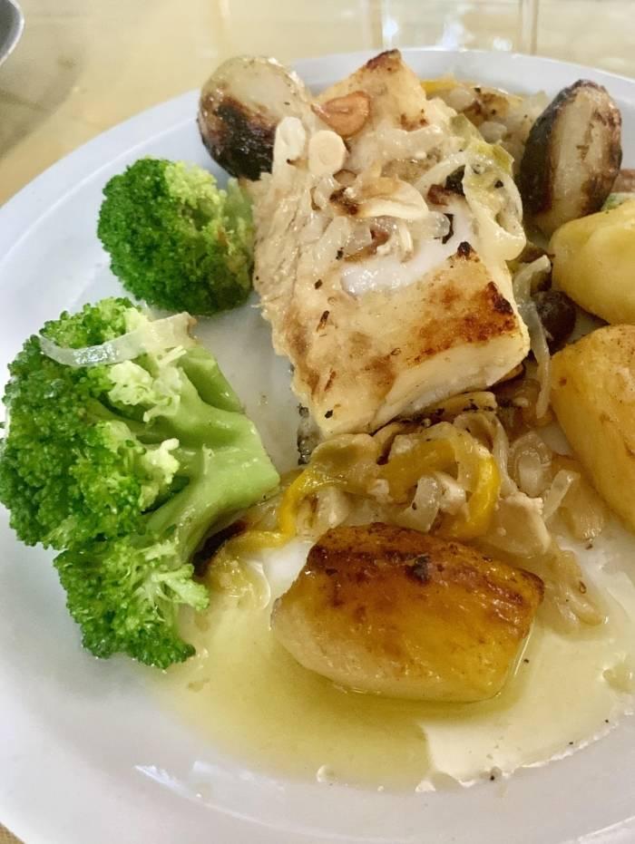 Bacalhau é um prato tradicional