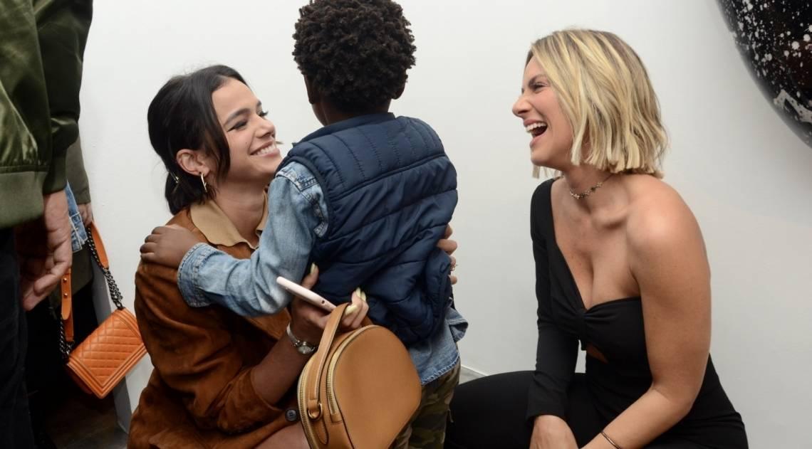 Bruna Marquezine, Titi e Giovanna Ewbank