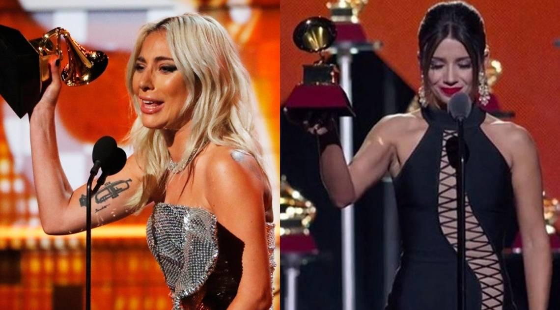 As duas são ganhadoras do Grammy