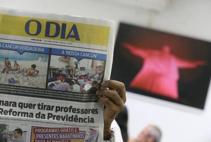 Redação do Jornal o Dia