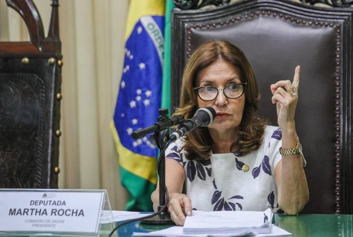A ex-delegada Martha Rocha é pré-candidata à prefeitura pelo PDT