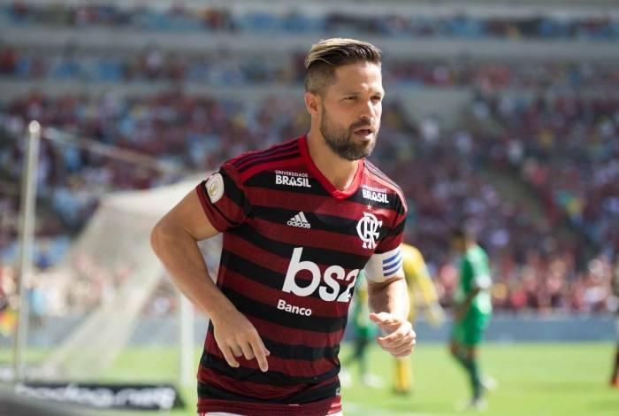 Diego vem sendo um reserva de luxo para o Flamengo