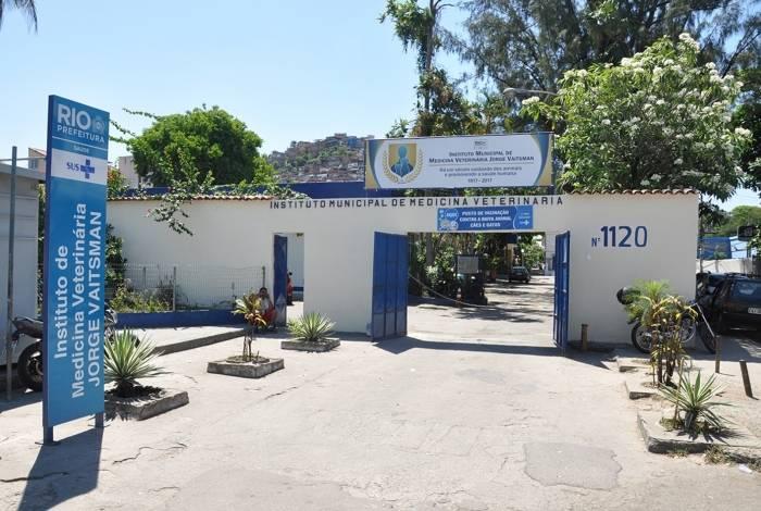 Instituto de Medicina Veterinária Jorge Vaitsman, em São Cristóvão
