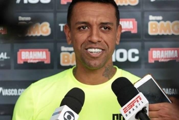 O goleiro Sidão falhou na derrota do Vasco para o Santos