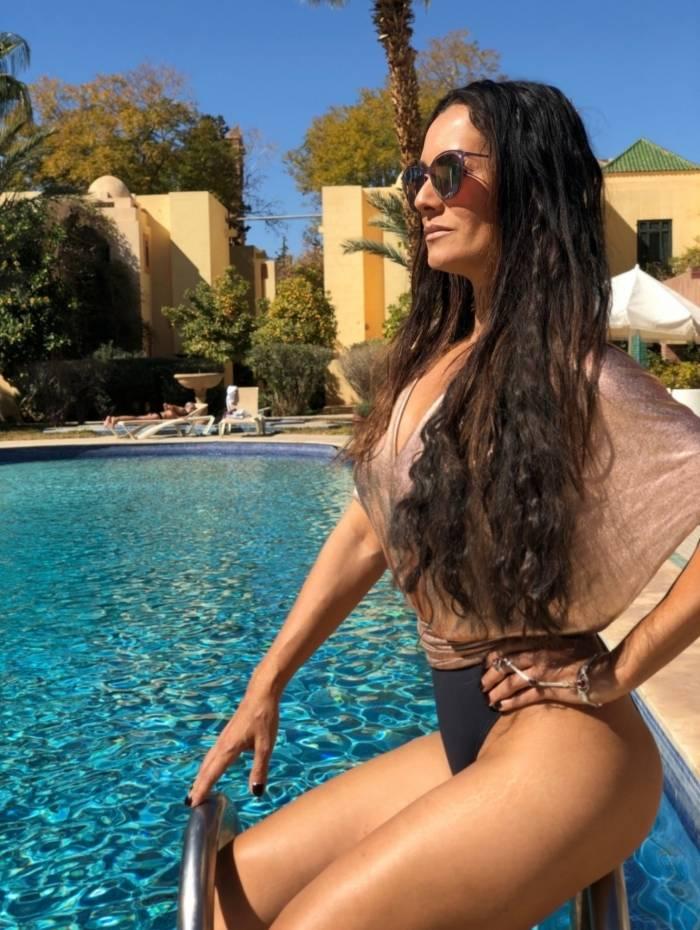 Mônica Carvalho: beleza não atrapalhou a carreira