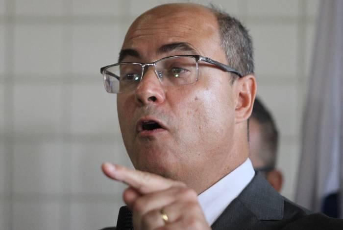 Governador falou sobre a morte do lutador durante inauguração da nova sede da DHBF