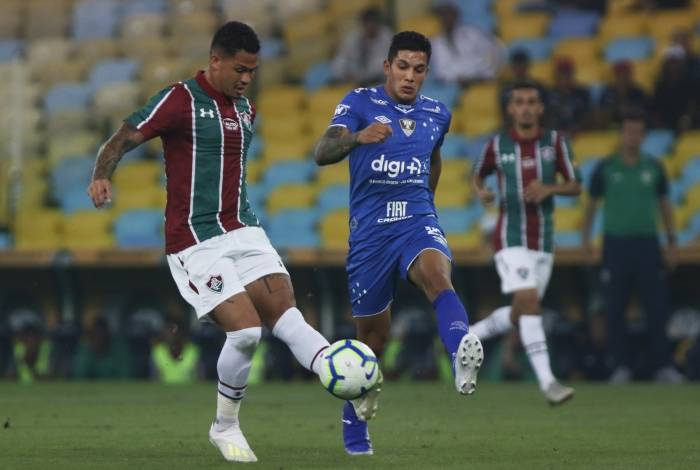 Fluminense e Cruzeiro se enfrentam na Copa do Brasil