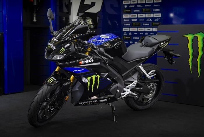 Versão esportiva de baixa cilindrada é chamada de R125 Monster Energy Yamaha MotoGP Edition