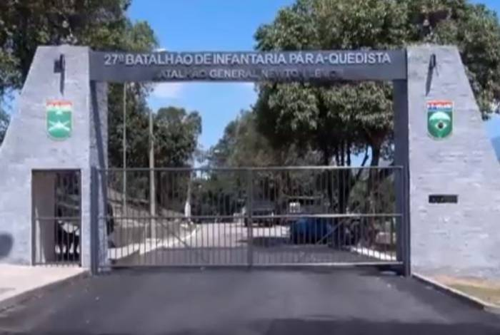 27° Batalhão de Infantaria Paraquedista, na Vila Militar, onde aconteceu trote violento