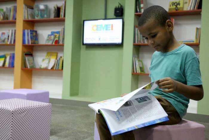 Alunos do Cemei do Parque Aurora terão à disposição uma reformulada biblioteca multimídia