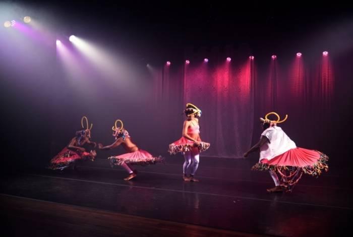 Espetáculo 'Dança Naná'