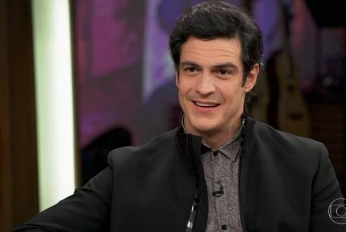 Mateus Solano no 'Conversa com Bial'