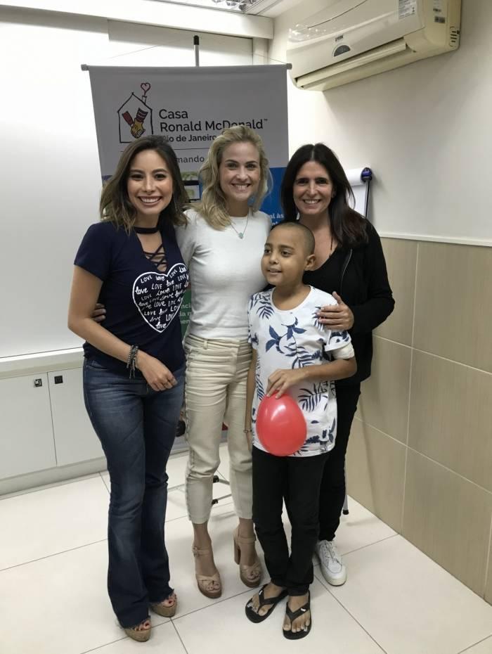 Marcela Monteiro, Malu Mader e Luiza Valdetaro